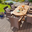 Luxury rattan Garden furniture — Stock Photo #36922407