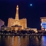 LAS VEGAS, USA - Night Panorama of Las Vegas Boulevard — Stock Photo #37572163