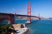 De golden gate bridge — Stockfoto