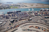 Port of Oakland - Oakland, California, USA — Stock Photo