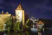 Prague Malostranska Water Tower — Stock Photo