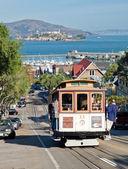 SAN FRANCISCO - NOVEMBER 2nd: The Cable car tram, November 2nd,  — Stockfoto