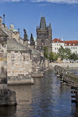 Prague Charles bridge — Stock Photo