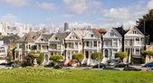 SAN FRANCISCO, USA - Painted Ladies — Stock Photo