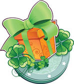 Present for St.Patrick's Day. — Stock Vector