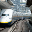 Stock Photo: Shinkansen bullet train
