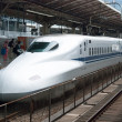 Shinkansen bullet train - Stock Photo