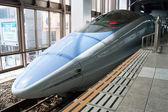 Shinkansen bullet train — Stock Photo