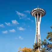 Space Needle in Seattle — Stock Photo