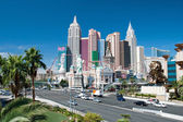New York-New York on the Las Vegas Strip in Nevada — Stock Photo