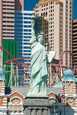 Replica of the Statue of Liberty in New York-New York on the Las — Stock Photo