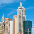 Empire State building in New York-New York on the Las Vegas Stri — Stock Photo