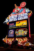 Circus Circus Casino and Hotel Resort on the Las Vegas Strip at — Stock Photo