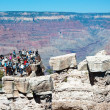 South Rim of Grand Canyon in Arizona — Stock Photo