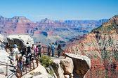 South Rim of Grand Canyon in Arizona — Stock Photo