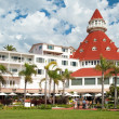 Stock Photo: Victorian Hotel del Coronado in San Diego