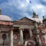 Abandoned Kazan Theotokos Church in Yaropolec, Russia — Stock Photo