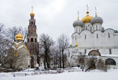 Novodevichy Convent in Moscow, Russia — Stock Photo
