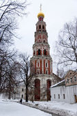 Novodevichy Convent in Moscow, Russia — Foto Stock