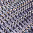 Recording Studio Mixing Console — Stockfoto #20990681
