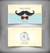 Vector creative business card — Stock Vector
