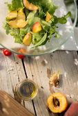 Backyard salad — Stock Photo