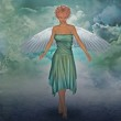 Angel in the sky — Stock Photo #6707373