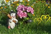 Garden bed — Stock Photo