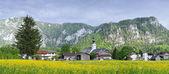 Bavarian landscape. Inzell — Stock Photo