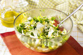 Chinese cabbage salad — Stock Photo