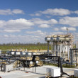 Stock Photo: Refinery plant