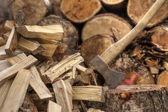 Chopping Wood 01 — Foto de Stock