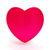 Abstract red heart — Stock Photo