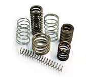 Metal springs — Stock Photo