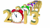 New year 2013 — Foto Stock