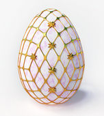Easter - marble egg — Stock Photo