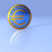 Euro sign — Stock Photo