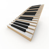 Piano stair — Stock Photo