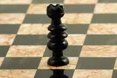 šachová figurka, královna — Stock fotografie
