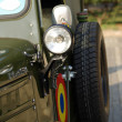 Old cars, Romanian Army truck — Stock Photo #16955847