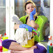Women cleaning — Stock Photo #22367241