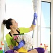Stock Photo: Women cleaning