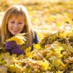 Beauty during autumn — Stock Photo #33373211