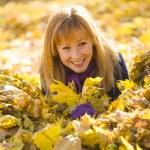 Beauty during autumn — Stock Photo #33373259