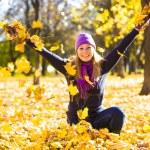 Beauty during autumn — Stock Photo #33376375
