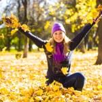 Beauty during autumn — Stock Photo #33376461