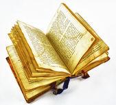 Vieux livre ouvert — Photo