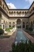 Royal Alcazar Seville — Stock Photo