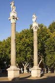 Hercule statues in Seville — Stock Photo
