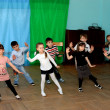 Children dance at school in a dance hall — Stock Photo #12671529